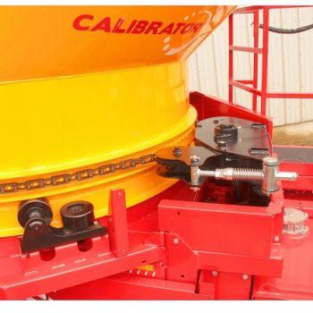 Robuster Ballenkammer-Support & Drive