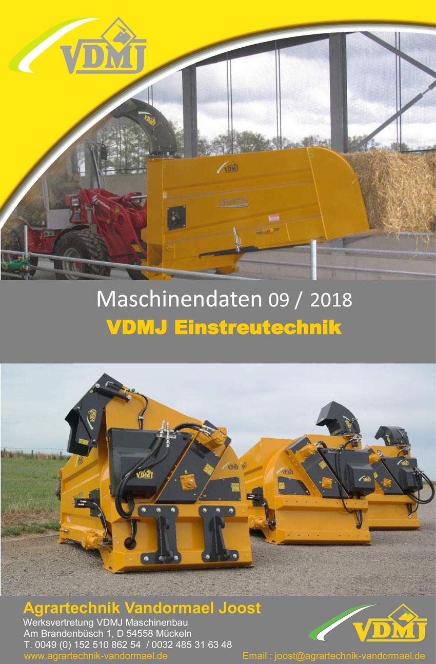 Prospekt VDMJ-Einstreutechnik